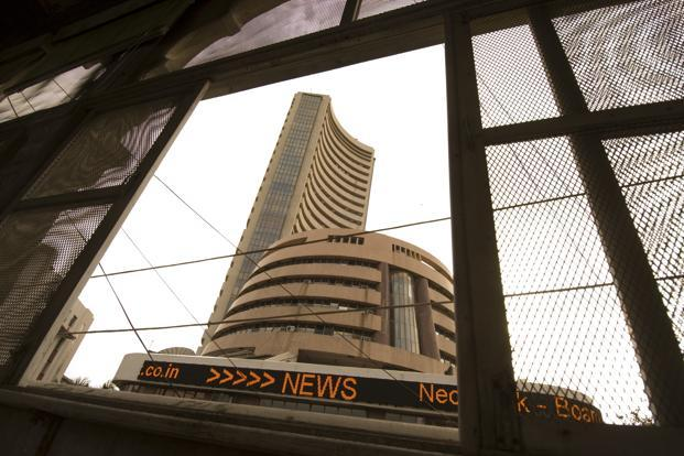 Sensex slips in volatile trade, down 44 points
