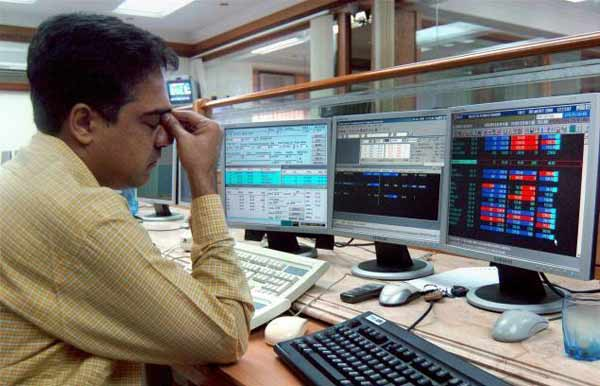 Sensex ends lower by 95 points