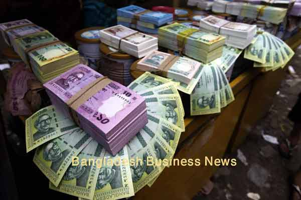 Bangladesh Taka depreciates slightly against greenback