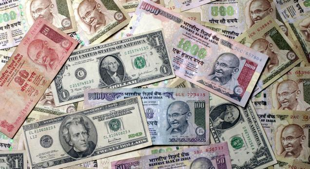 Rupee weakens to 67.91 on month-end dollar demand