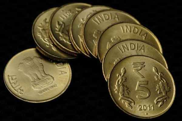 Indian Rupee rises for 5th straight day; up 11 paisa at 67.84