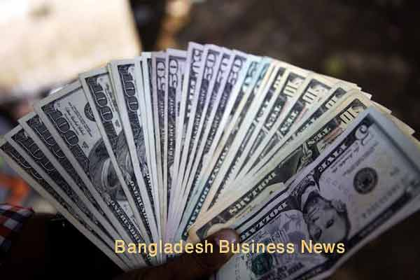 Bangladesh Taka depreciates two paisa more against US dollar