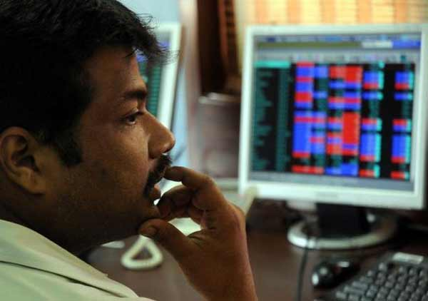 Sensex opens 44 points down on weak global cues