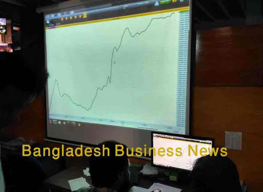 Bangladesh's stocks begin year on positive note