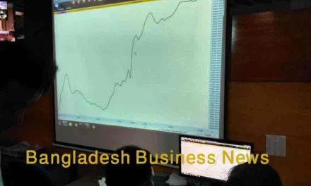 Bangladesh's stocks stay positive at midday on Tuesday