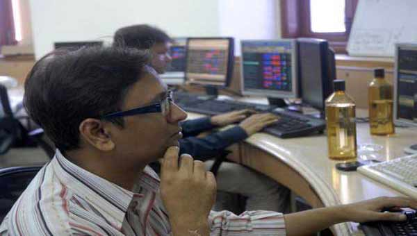 Sensex plunges 218 points; Nifty slips to 9,057