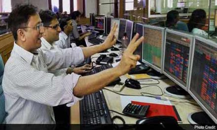 Sensex up 90 points, Nifty regains 9,400 level