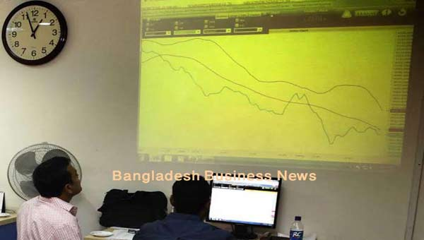 Bangladesh's stocks close lower for 5th day