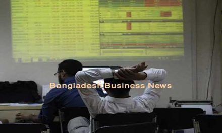 Bangladesh's stocks stay down at midday Tuesday