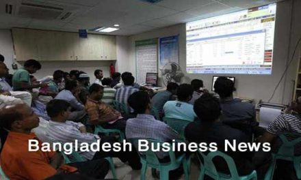 Bangladesh's stocks turn positive at midday Monday